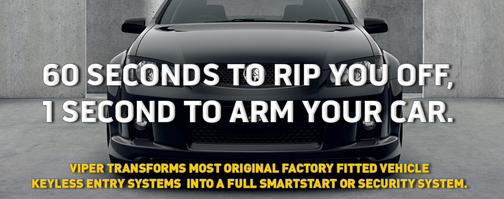 60 seconds to rip off your car