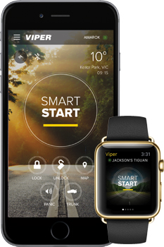 iphone and iwatch with smartstart 4.0